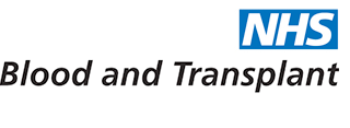 NHS Blood and Transplant Clinical trials logo